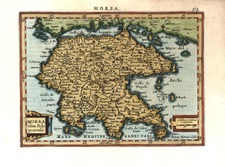 Europe, Greece and Balearic Islands Map By Henricus Hondius - Gerhard Mercator