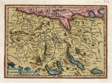 Europe and Switzerland Map By Henricus Hondius - Gerhard Mercator