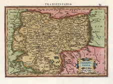 Europe, Romania and Balkans Map By Henricus Hondius - Gerhard Mercator