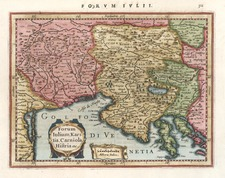 Europe, Balkans and Italy Map By Gerhard Mercator