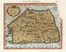 Asia and India Map By Henricus Hondius - Gerhard Mercator