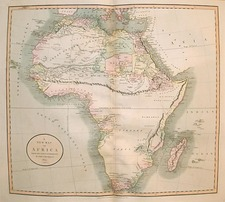 Africa and Africa Map By John Cary