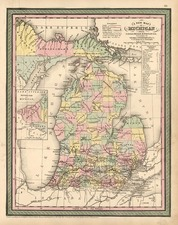 Midwest Map By Thomas, Cowperthwait & Co.