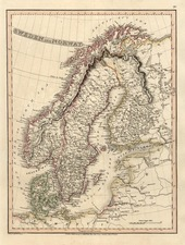Europe and Scandinavia Map By Charles Smith