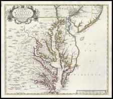 Mid-Atlantic and Southeast Map By John Senex