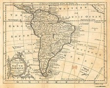 South America Map By John Gibson