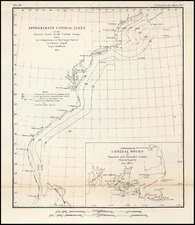 United States, New England and Mid-Atlantic Map By U.S. Coast Survey