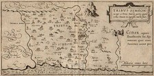 Asia and Holy Land Map By Christian van Adrichom
