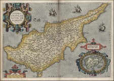 Europe, Mediterranean and Balearic Islands Map By Abraham Ortelius