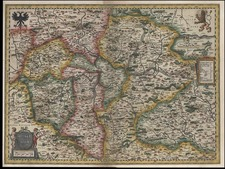 Europe and Czech Republic & Slovakia Map By Willem Janszoon Blaeu