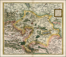 Europe and Germany Map By Abraham Ortelius