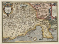 Europe, Balkans and Italy Map By Abraham Ortelius