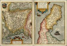 Italy Map By Abraham Ortelius