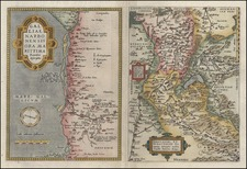 Europe, Switzerland and France Map By Abraham Ortelius