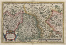 Europe, Germany and Czech Republic & Slovakia Map By Abraham Ortelius
