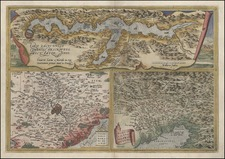 Europe and Italy Map By Abraham Ortelius
