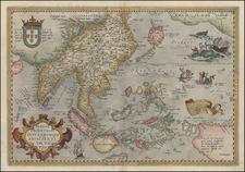 Asia, Southeast Asia, Philippines, Australia & Oceania, Australia and Oceania Map By Abraham Ortelius
