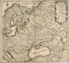 Europe, Europe, Poland, Russia and Scandinavia Map By Jean-Baptiste Nolin