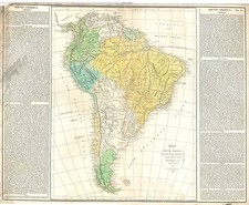 South America Map By E. Paguenaud
