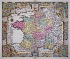 Europe and France Map By Tobias Conrad Lotter