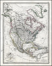 United States Map By Alexandre Emile Lapie