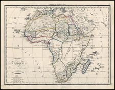 Africa and Africa Map By Alexandre Emile Lapie
