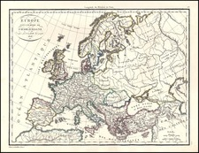 Europe and Europe Map By Alexandre Emile Lapie