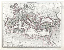 Europe, Europe, Italy and Mediterranean Map By Alexandre Emile Lapie