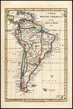 South America Map By Charles Dilly