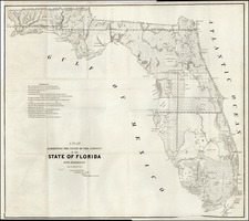 Southeast Map By U.S. Surveyor General