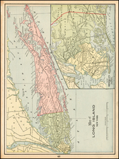 Map By George F. Cram