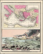 Europe, Mediterranean and Curiosities Map By H.C. Tunison