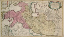 Europe, Asia, Central Asia & Caucasus, Middle East, Turkey & Asia Minor and Balearic Islands Map By Reiner & Joshua Ottens