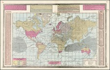 World, World and Curiosities Map By H.C. Tunison