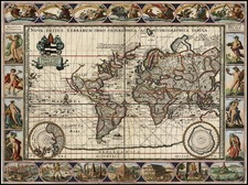 World and World Map By Moses Pitt