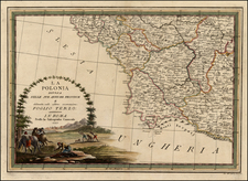 Poland Map By Giovanni Maria Cassini