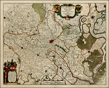 Map By Willem Janszoon Blaeu