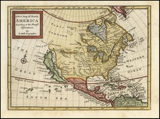 North America Map By Herman Moll