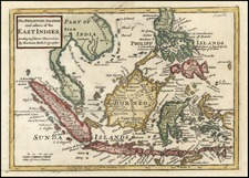 Asia, Southeast Asia and Philippines Map By Herman Moll