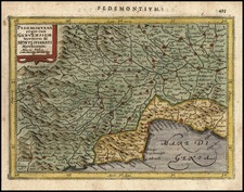 Europe and Italy Map By Jodocus Hondius - Gerhard Mercator