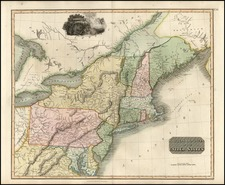 New England, Mid-Atlantic and Southeast Map By John Thomson