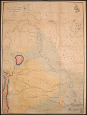 Plains and Rocky Mountains Map By F.V. Hayden / G.K. Warren