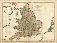 Europe and British Isles Map By John Blair