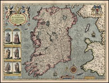 Ireland Map By John Speed
