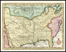 United States, Southeast, Midwest and Plains Map By John Gibson