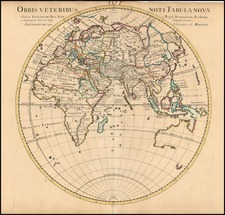 World, World, Eastern Hemisphere, Australia & Oceania and Australia Map By Johannes Covens  &  Cornelis Mortier