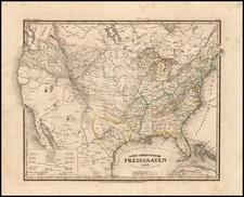 United States Map By Joseph Meyer