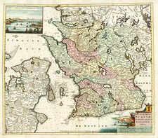 Europe and Scandinavia Map By Johannes Covens  &  Cornelis Mortier