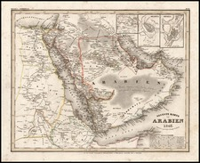 Asia and Middle East Map By Joseph Meyer