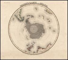 World, Southern Hemisphere and Polar Maps Map By Joseph Meyer
